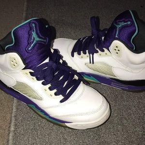 Air Jordan Retro Grape 5's GS